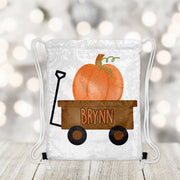 Trick or Treat Personalized Reversible Sequin Drawstring Bag