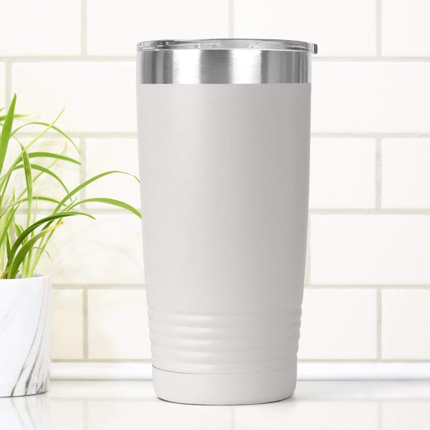 Personalized Let's Wander Laser Engraved Laser Etched Tumbler Cup 20 oz. or 30 oz. Add Your Name