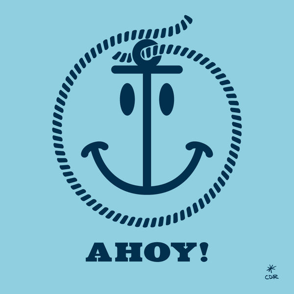 Ahoy! Print -  - Print - Christopher David Ryan - CDR