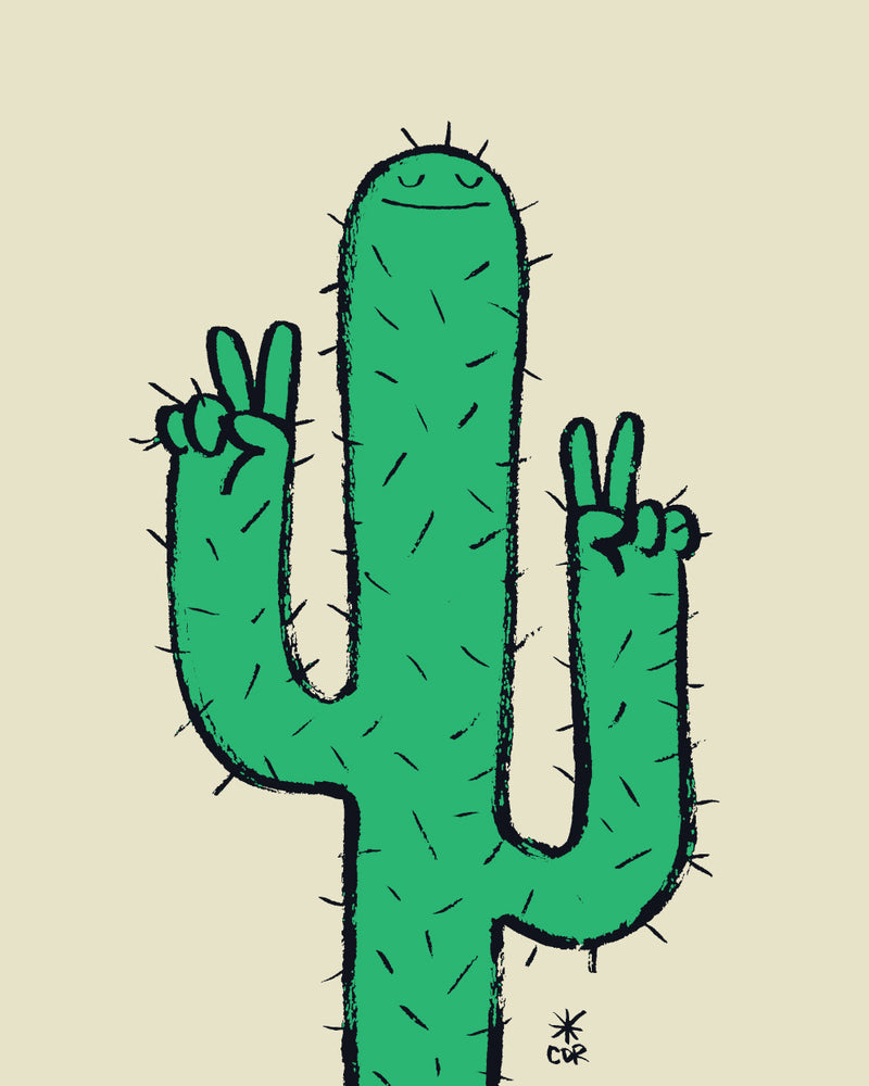 The Cactus Print