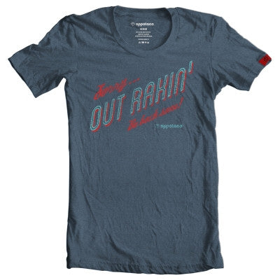 Out Rakin' - Navy Heather