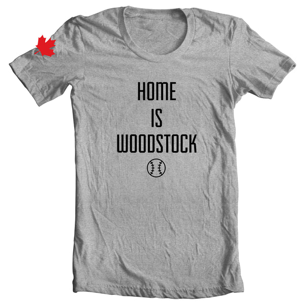 Home Is Woodstock Tee