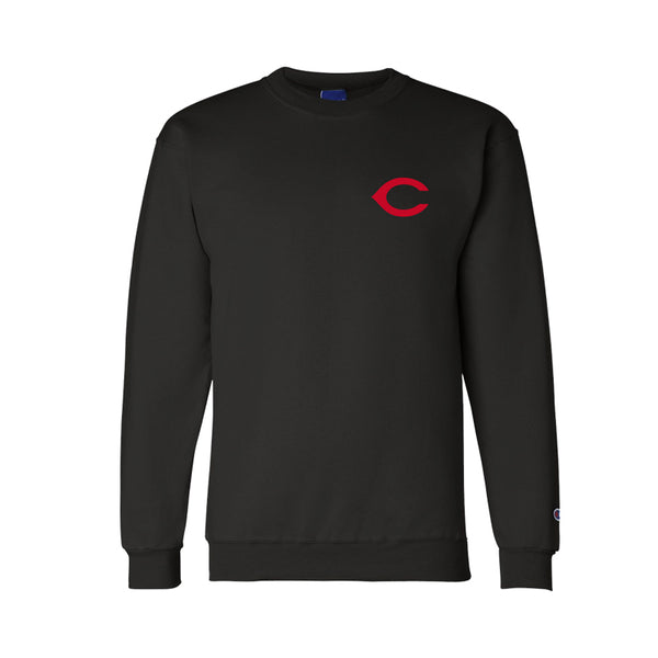 REDS Champion Crew Neck - Black