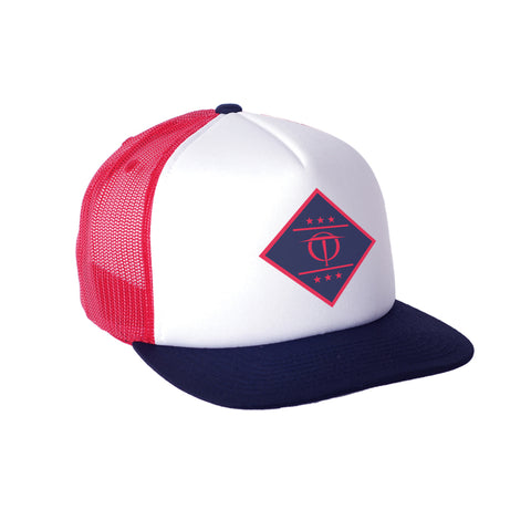 Diamond Cutter - Navy/Red