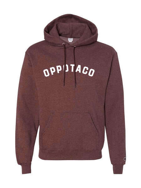 Champion - Oppotaco Hoodie - Maroon Heather