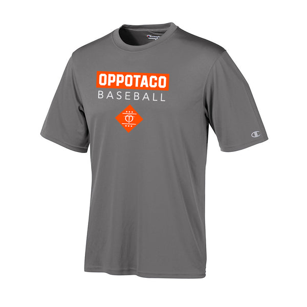 Champion - Oppotaco Performance Tee - Stone Grey