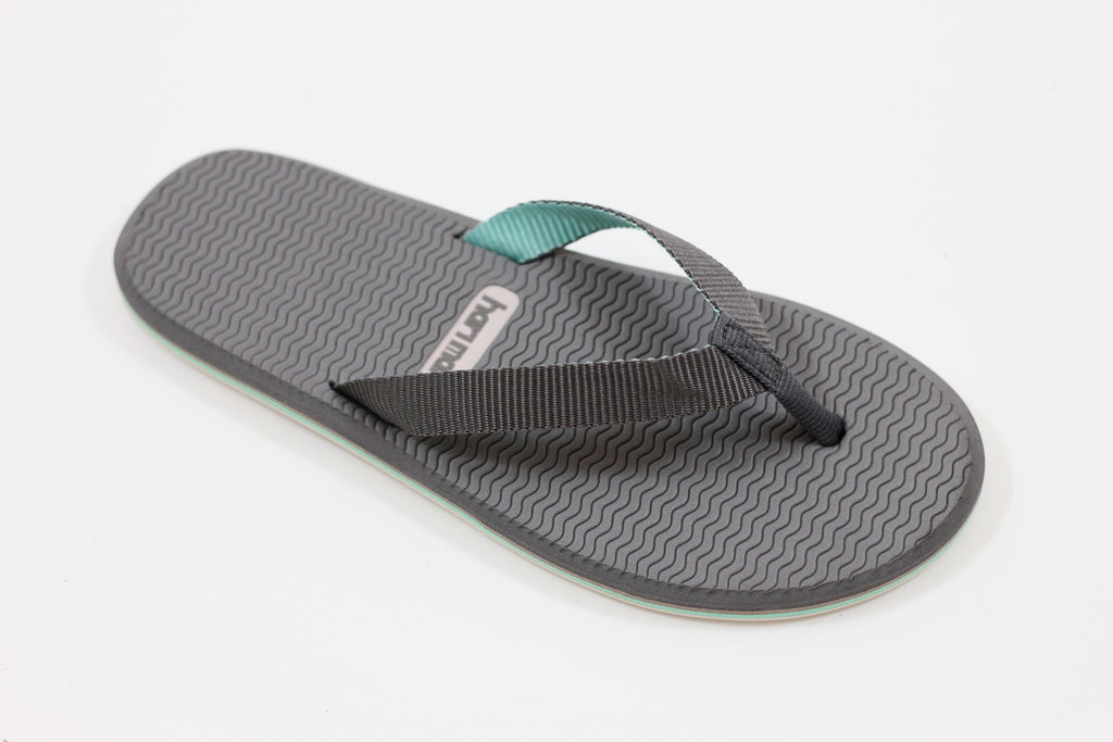 Hari Mari Women's Dunes Sandal - Grey/Mint Nylon