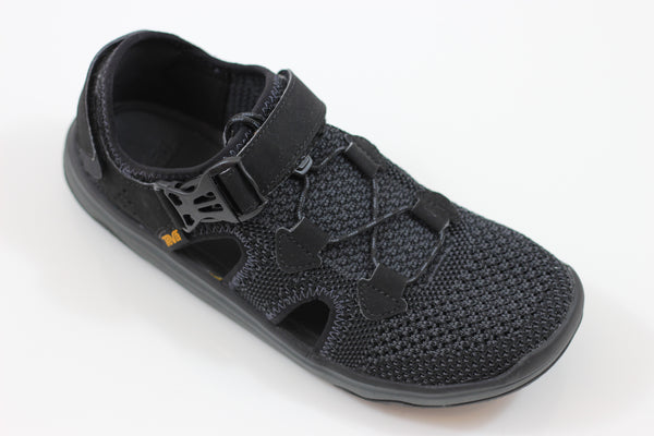 Teva Men's Terra Float Knit Sandal- Black Leather