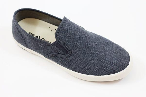 Seavees Men's Baja Slip On - Navy Linen