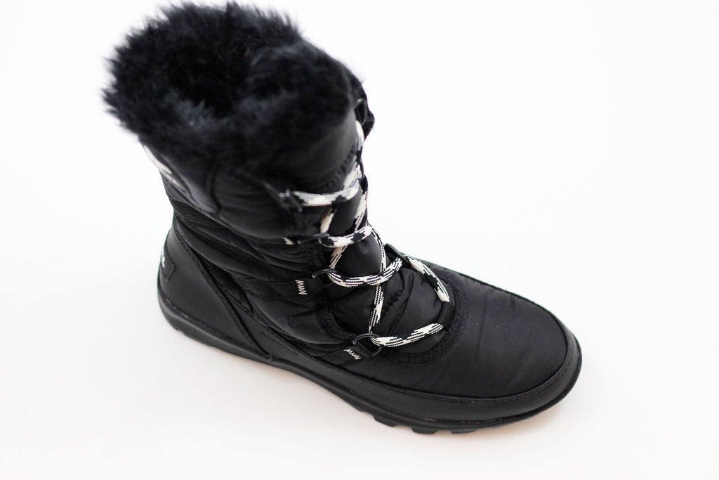 Sorel Women's Whitney Tall Lace II Boot - Black Nylon