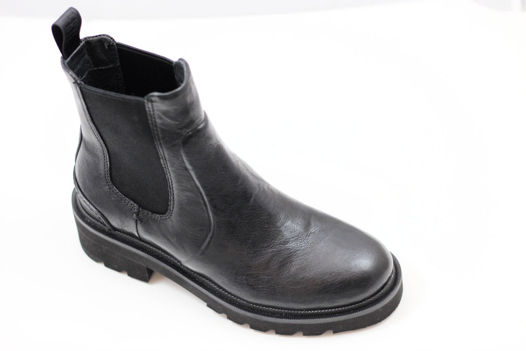 Frye Women's Allison Chelsea Boot - Black Calf