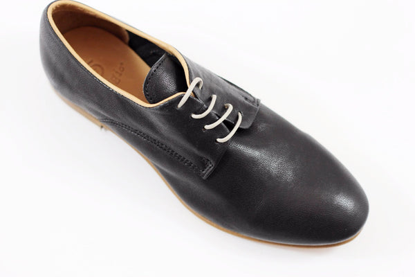 Gidigio Women's GB010150 Oxford - Black Calf Side Angle View