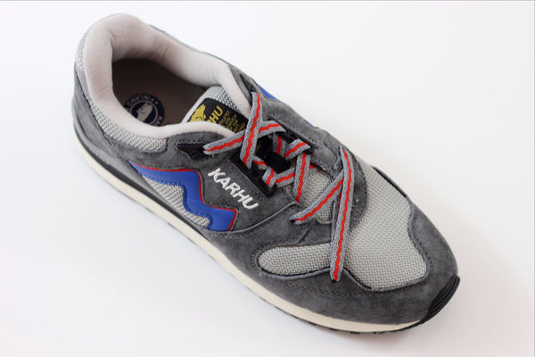 Karhu Men's Synchron Classic Sneaker - OG Grey Side Angle View