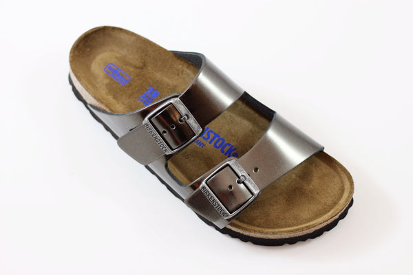 Birkenstock Women's Arizona - Metallic Anthracite