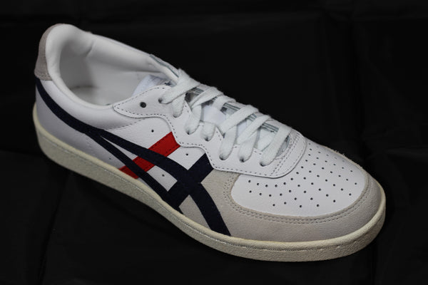Onitsuka Tiger GSM Sneaker - White/Peacoat Leather Side Angle View