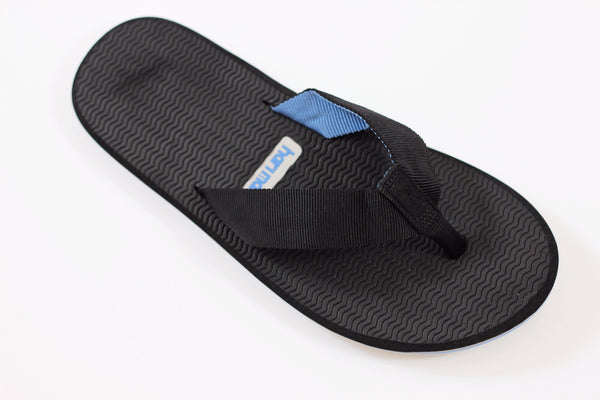 Hari Mari Men's Dunes Sandal - Black Nylon