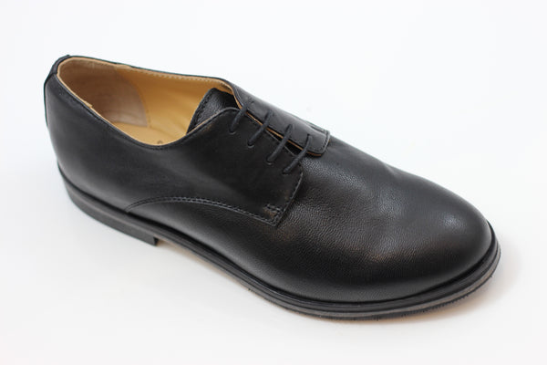 Gidigio Women's GG020490 Oxford - Black Calf Side Angle View