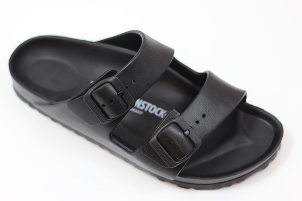 Birkenstock Women's Arizona EVA Sandal - Black EVA - Side Angle View