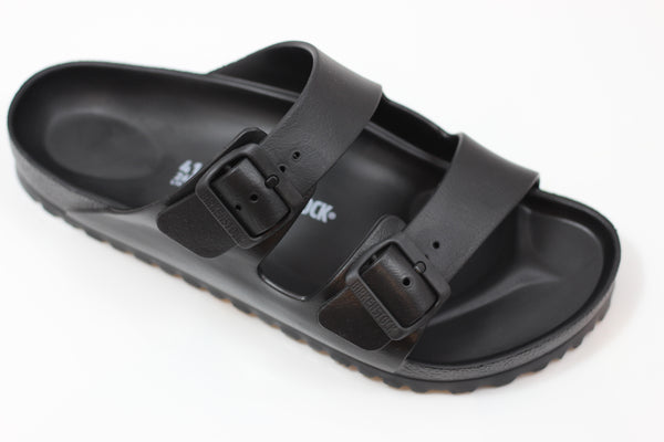 Birkenstock Men's Arizona EVA Sandal - Black EVA - Side Angle View