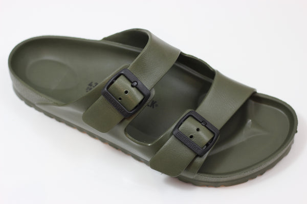 Birkenstock Men's Arizona EVA Sandal - Khaki EVA - Side Angle View