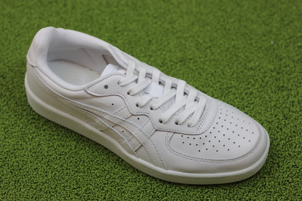 Onitsuka Tiger GSM Sneaker - White Leather Side Angle View