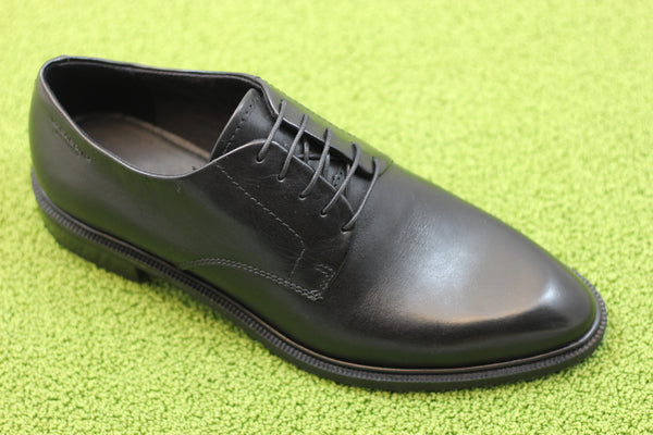Vagabond Womens Frances Oxford - Black Leather  Side Angle View
