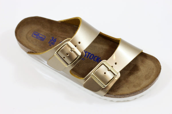 Birkenstock Women's Arizona Sandal - Spec Platinum Leather