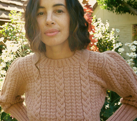 MULBERRY SWEATER -- MAPLE