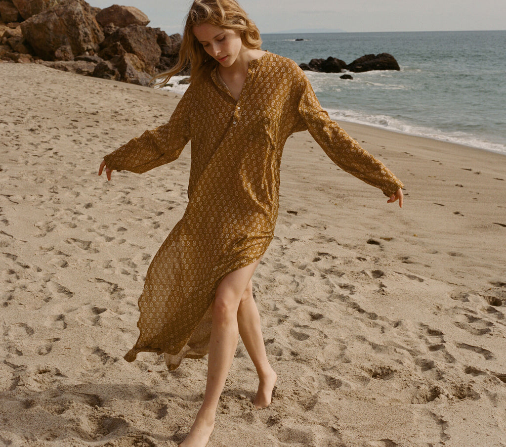 ARGAN DRESS -- GOLDEN