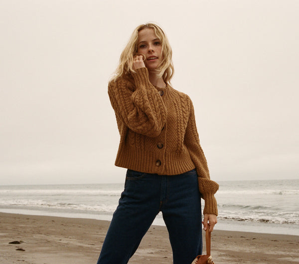 HERMIONE SWEATER -- TABAC
