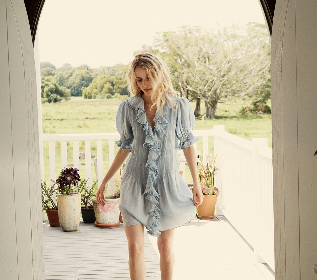 PIPER DRESS -- FRENCH BLUE