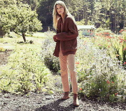 ADELIA SWEATER -- SIENNA