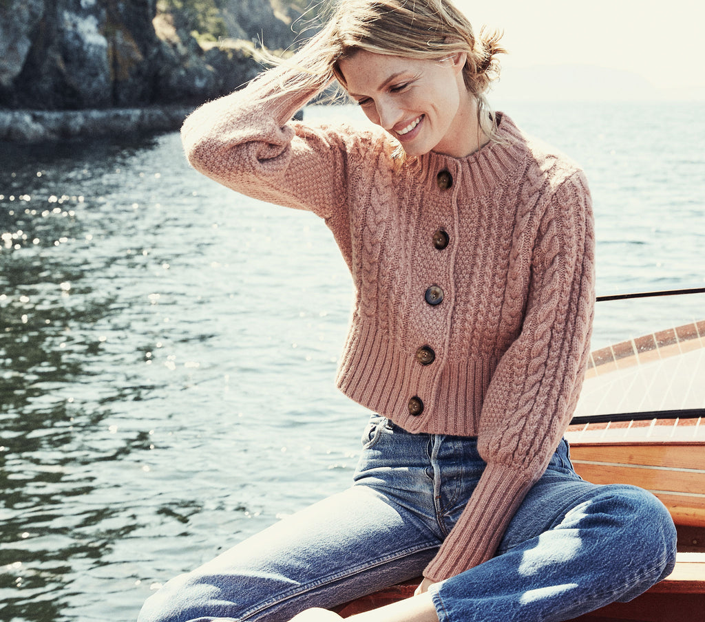 BERNADETTE SWEATER -- MAPLE