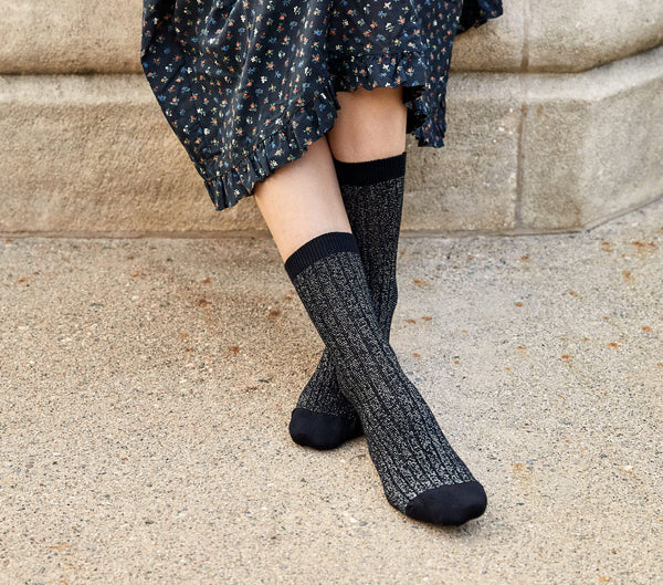 Swatches: Lurex Ankle Socks
