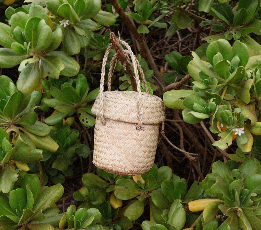 PHOEBE BASKET -- NATURAL