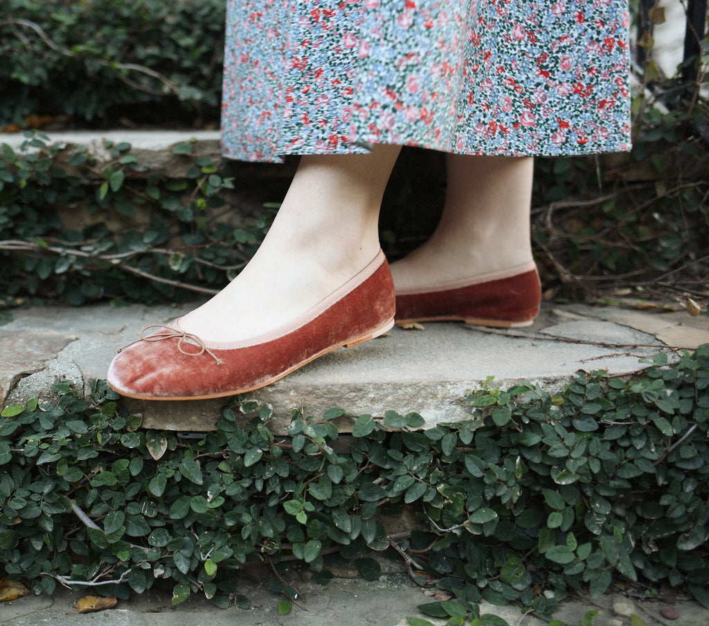 BALLERINA SLIPPER -- ROSE COPPER