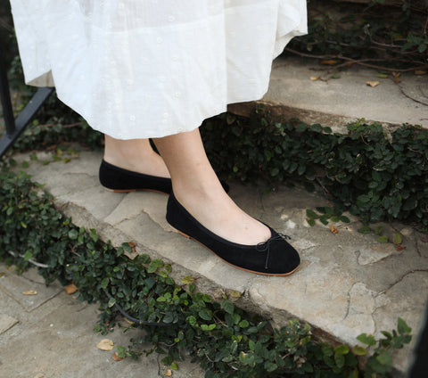 OPERA SLIPPER -- BLACK