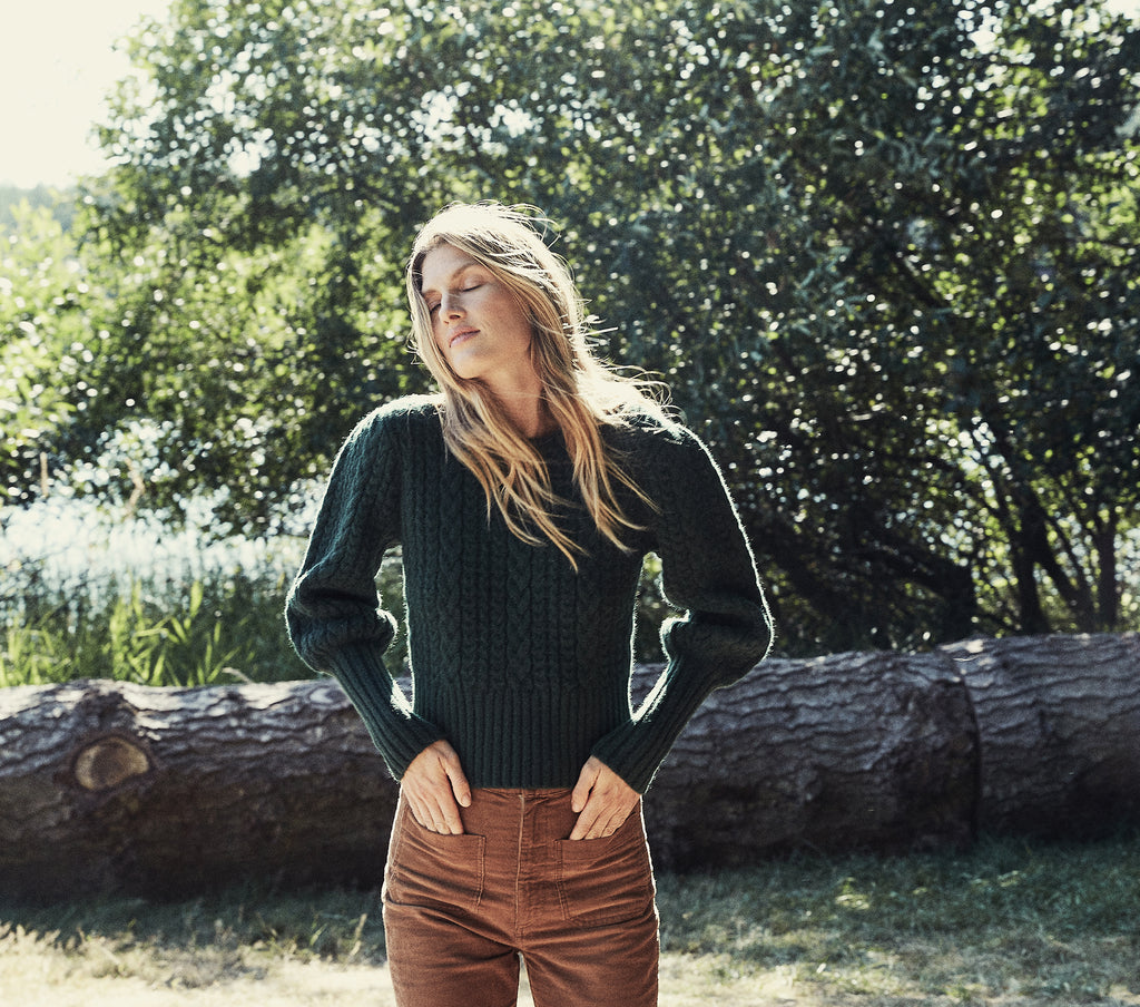 MULBERRY SWEATER -- DEEP FOREST