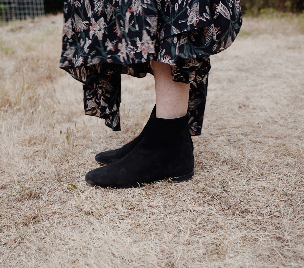 BOWERY BOOT -- BLACK