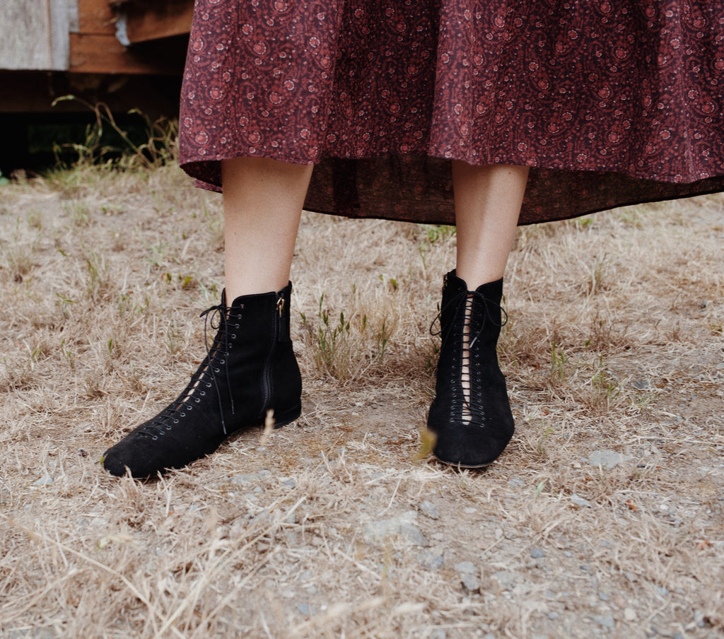 VICTORIANA BOOT -- BLACK