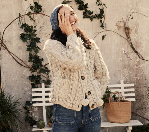 POMME SWEATER -- MOONSTONE
