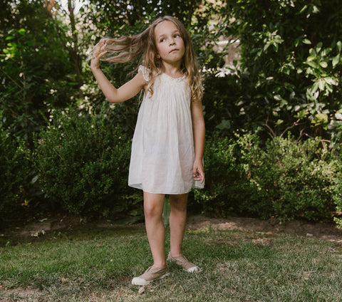 YEARLING BY DÔEN ARLO DRESS -- SALT