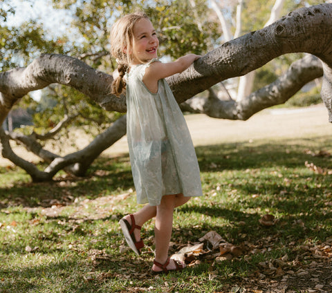 YEARLING BY DÔEN ARLO DRESS -- SWEET DAISY