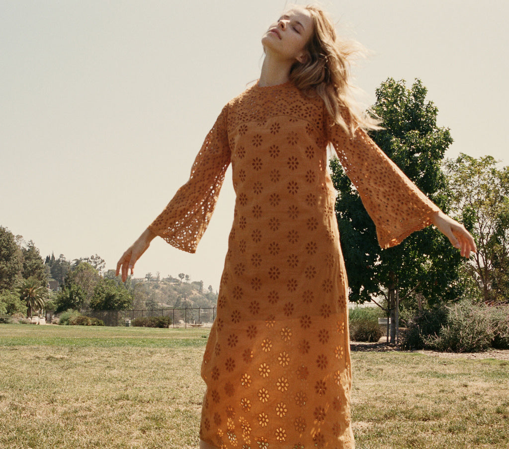 FRANCOISE DRESS -- MARIGOLD