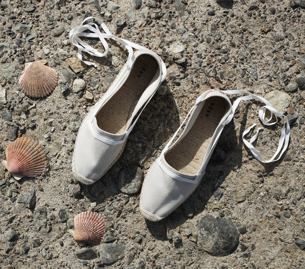 SALVADORE ESPADRILLES -- MILKY WAY CANVAS