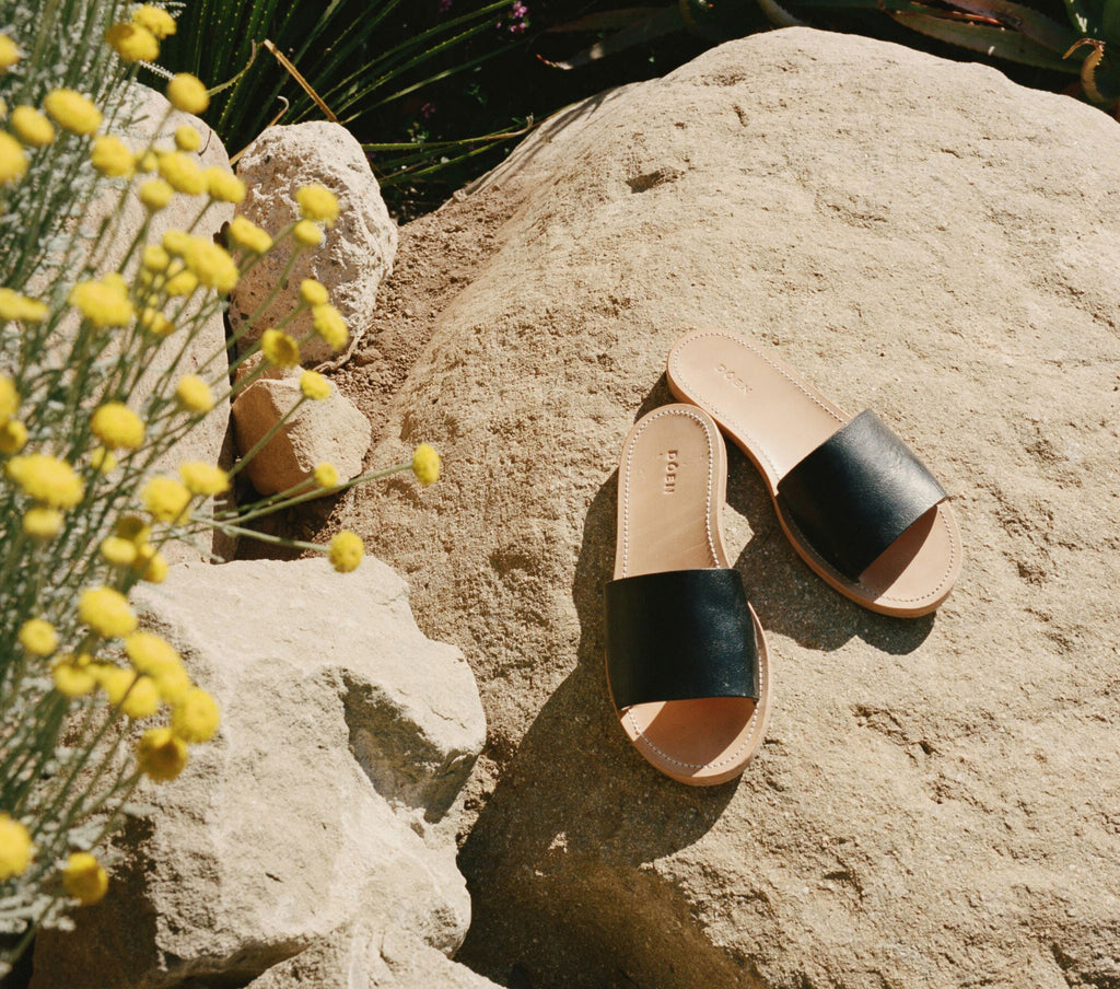 SANTAL SANDAL -- BLACK