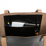 Utility Tote - Black Structured