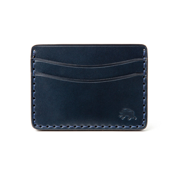 Hand Stitched 5 Pocket Wallet - Navy