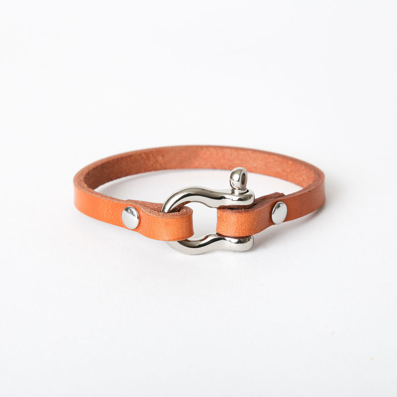 Tan Shackle Bracelet - Single