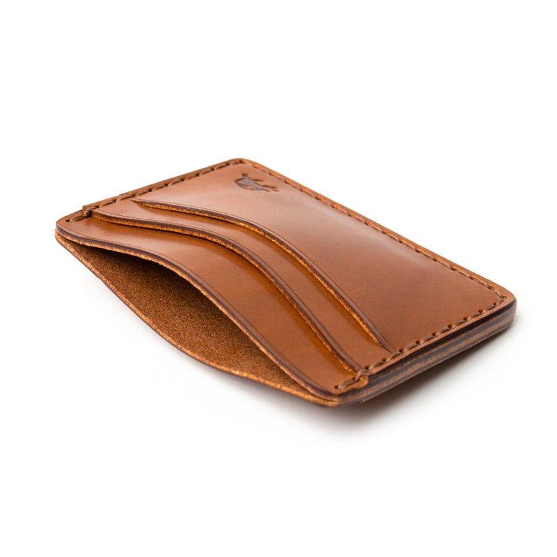 Hand Stitched 5 Pocket Wallet - Buck Brown